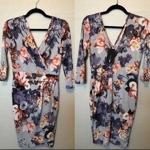 Fashion Nova Wrap Dress